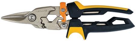Fiskars PowerGear převodové nůžky na plech, přímé; 1027207