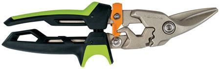 Fiskars PowerGear převodové nůžky na plech, pravé; 1027208