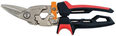 Fiskars PowerGear převodové nůžky na plech, levé; 1027209
