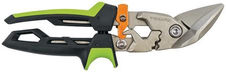 Fiskars PowerGear převodové nůžky na plech, offsetové pravé; 1027210