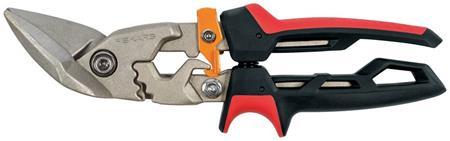 Fiskars PowerGear převodové nůžky na plech, offsetové levé; 1027211