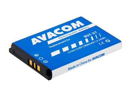 AVACOM Baterie pro mobilní telefon Sony Ericsson K750, W800 Li-Ion 3,7V 900mAh, (náhrada za BST-37); GSSE-K750-900