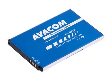 AVACOM Baterie pro mobilní telefon LG D855 G3 Li-Ion 3,8V 3000mAh (náhrada za BL-53YH); GSLG-D855-3000