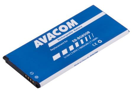AVACOM Baterie pro mobilní telefon Samsung G850 Galaxy Alpha Li-Ion 3,85V 1860mAh (náhrada za EB-BG850BBE); GSSA-G850-1860