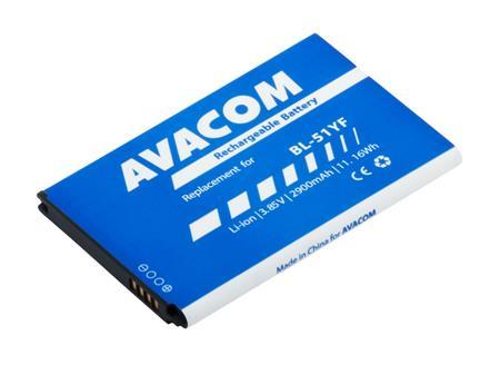 AVACOM Baterie pro mobilní telefon LG H815 G4 Li-Ion 3,85V 2900mAh (náhrada za BL-51YF); GSLG-LG320-S2900