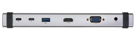 EVOLVEO USB -C MultiPort 1, 10Gbs, kovový ; MultiPort1 - Evolveo MultiPort1