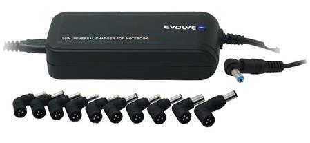 EVOLVEO Global Lite Plus, napájecí zdroj pro notebooky; Global Lite Plus - Evolveo 90W Global Lite Plus - neoriginální
