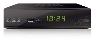 Alma 2860, DVB-T2 HEVC FTA přijímač; DBTALH0110