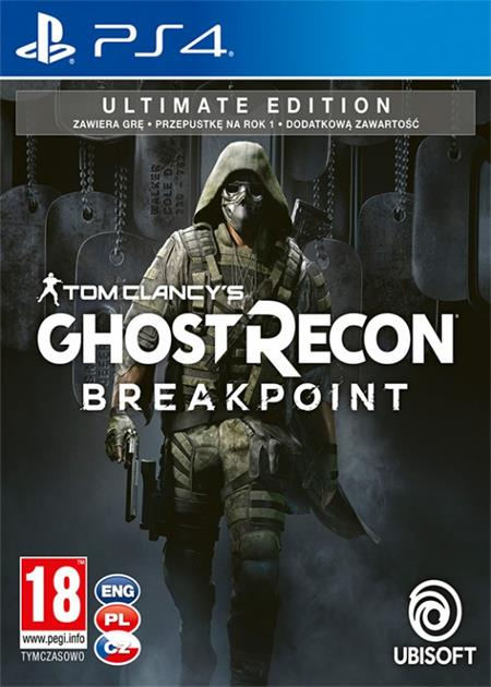Tom Clancys Ghost Recon: Breakpoint - Ultimate Edition (PS4); 9105801