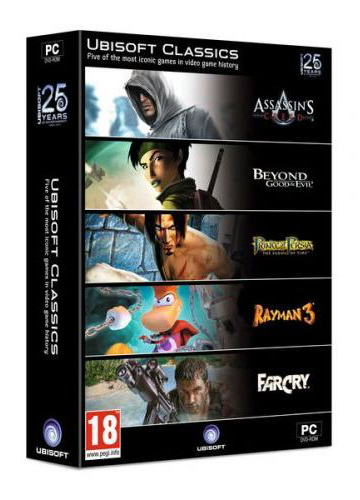 Ubisoft Classics Collection (PC); 1091