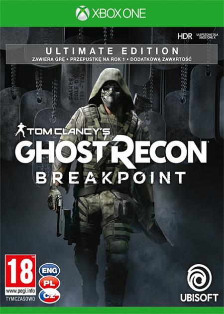 Tom Clancys Ghost Recon: Breakpoint - Ultimate Edition (Xbox One); 9105800
