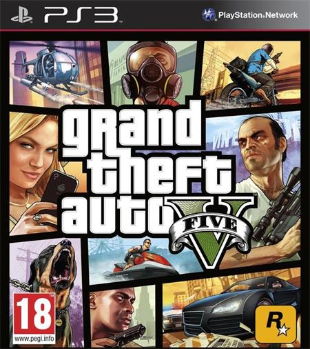 Grand Theft Auto V (GTA 5) (PS3); 52754