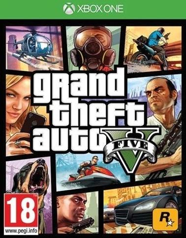 Grand Theft Auto V (GTA 5) (Xbox One); 9101296