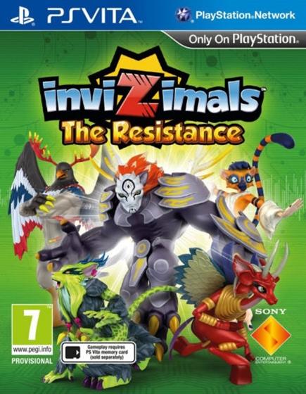 Invizimals: The Resistance (PS Vita); 9103296