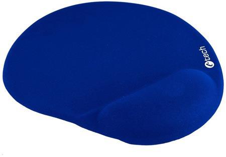 Podložka pod myš gelová C-TECH MPG-03, modrá, 240x220mm; MPG-03B