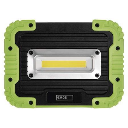 EMOS COB LED nabíjecí pracovní reflektor P4533, 1000 lm, 4400 mAh; 1450000300