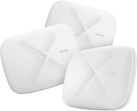 ZyXEL Multy X WiFi System (Pack of 3) AC3000 Tri-Band WiFi ; WSQ50-EU0301F
