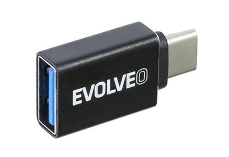 Evolveo C1, redukce USB A 3.1/ USB C 3.1 Gen 2, 10Gb/s ; ADAPTER-USB-C-USB-A