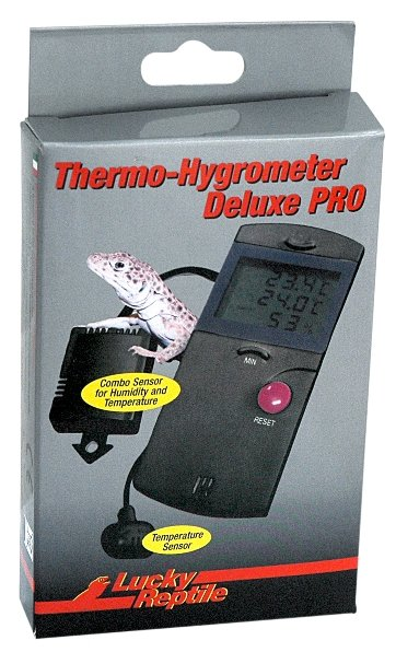 Lucky Reptile Thermo-Hygrometer Deluxe PRO; FP-62034