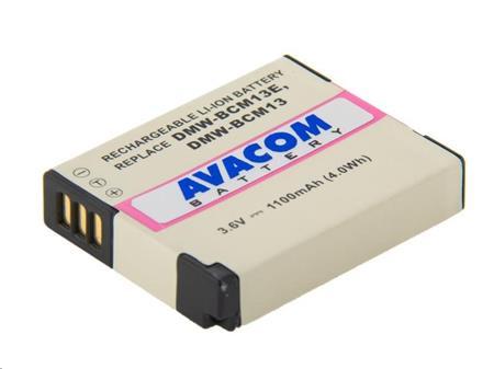 AVACOM baterie - Panasonic DMW-BCM13, BCM13E Li-Ion 3.6V 1100mAh 4Wh; DIPA-CM13-338