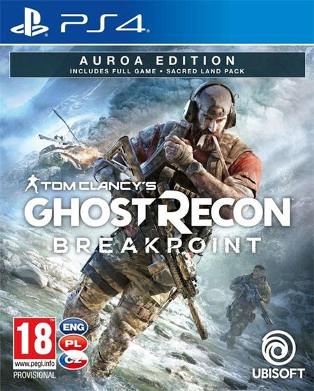 Tom Clancys Ghost Recon: Breakpoint - Auroa Edition (PS4); 9106250