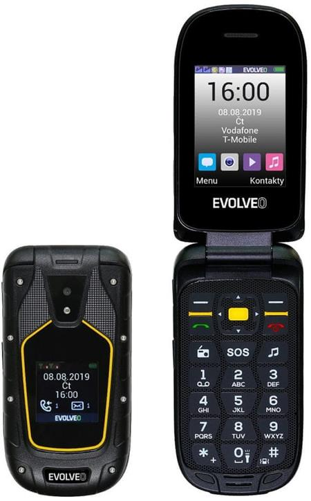 Evolveo StrongPhone F5, černý; SGP-F5-B