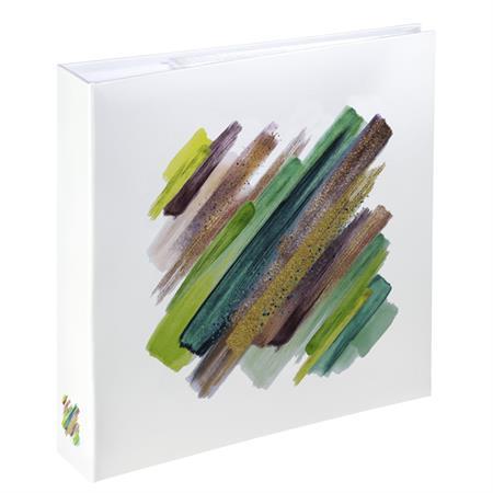 Hama album memo BRUSHSTROKE 10x15/200, zelená, popisové pole; 2739