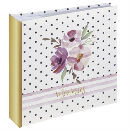 Hama album memo FLOWER MEMORIES 10x15/200, popisové pole; 2685
