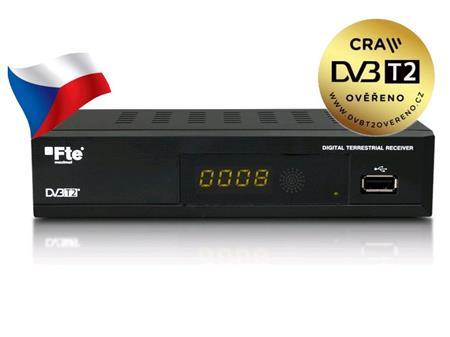 FTE MAX T200 HD DVB-T2 H.265/HEVC; FTET200