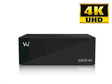 Vu+ ZERO 4K (1x DVB-T2/C hybridní tuner); VUZERO4KT2