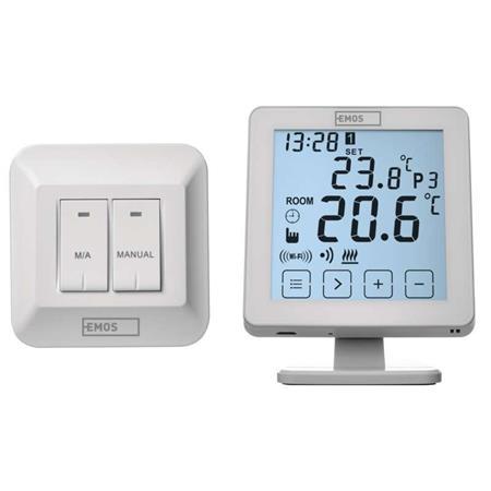 EMOS Pokojový termostat EMOS P5623 s WiFi; 2101306000