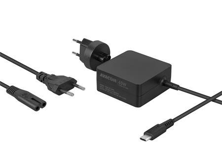 AVACOM Nabíjecí adaptér USB Type-C 45W Power Delivery; ADAC-FC-45PD