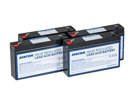 AVACOM bateriový kit pro renovaci RBC34 (4ks baterií); AVA-RBC34-KIT