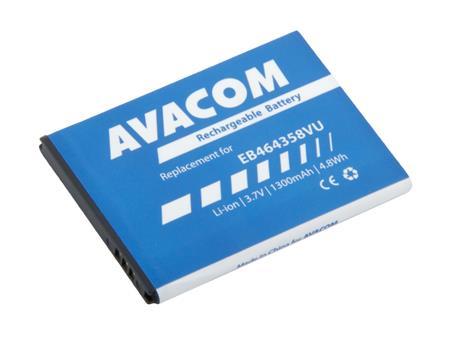 AVACOM Baterie do mobilu Samsung S6500 Galaxy mini 2 Li-Ion 3,7V 1300mAh (náhrada EB464358VU); GSSA-S7500-S1300