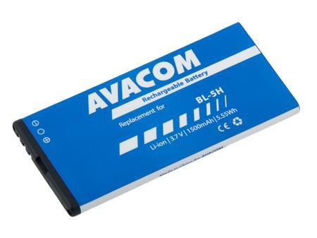 AVACOM Baterie do mobilu Nokia Lumia 630, 635 Li-Ion 3,7V 1500mAh (náhrada BL-5H); GSNO-BL5H-S1500