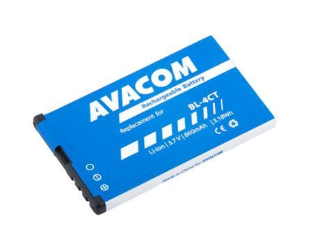 AVACOM Baterie do mobilu Nokia 5310 XpressMusic Li-Ion 3,7V 860mAh (náhrada BL-4CT); GSNO-BL4CT-S860