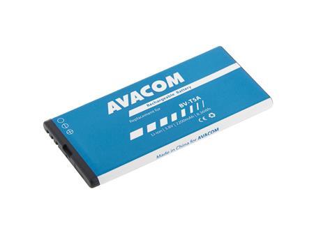 AVACOM Baterie do mobilu Nokia Lumia 730 Li-Ion 3,8V 2200mAh (náhrada BV-T5A); GSNO-BVT5A-S2200 - Baterie AVACOM GSNO-BVT5A-S2200 2200mAh - neoriginální