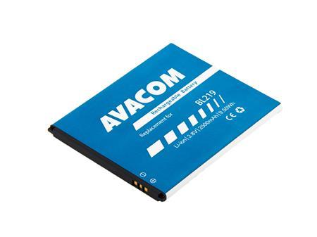 AVACOM Baterie do mobilu Lenovo A889 Li-Ion 3,8V 2500mAh (náhrada BL219); GSLE-BL219-S2500 - Baterie AVACOM GSLE-BL219-S2500 2500mAh - neoriginální