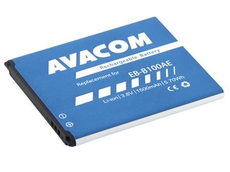 AVACOM Baterie do mobilu Samsung Galaxy ACE 3 Li-Ion 3,8V 1500mAh, (náhrada EB-B100AE); GSSA-B100-1500
