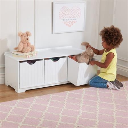KIDKRAFT Úložná lavice na hračky; 25519