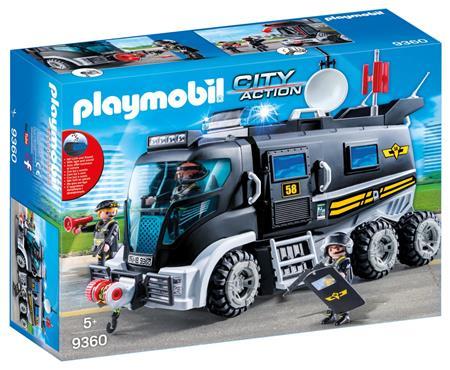 PLAYMOBIL Nákladní vozidlo speciální jednotky 9360; 25732