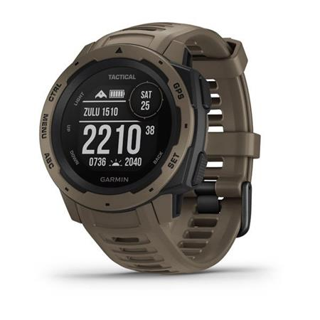 Garmin Instinct Tactical Coyote Tan Optic; 010-02064-71 - Garmin Instinct Tactical Optic