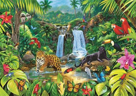 TREFL Puzzle Tropický deštný prales 2000 dílků; 129469