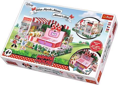 TREFL 3D puzzle Obchod Minnie; 119067 - Trefl Magic Playset Minnie
