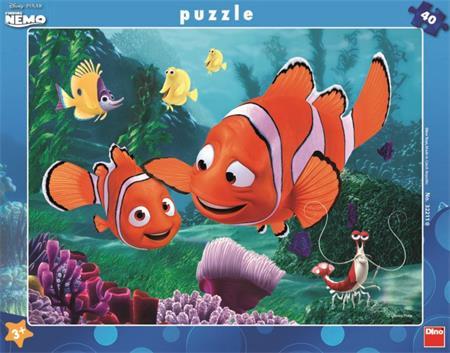 DINO Puzzle Hledá se Nemo: Nemo v bezpečí 40 dílků; 4040