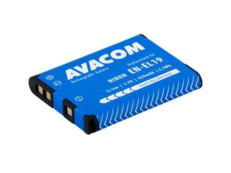 AVACOM baterie - Nikon EN-EL19 Li-Ion 3.7V 620mAh 2.3Wh; DINI-EL19-354
