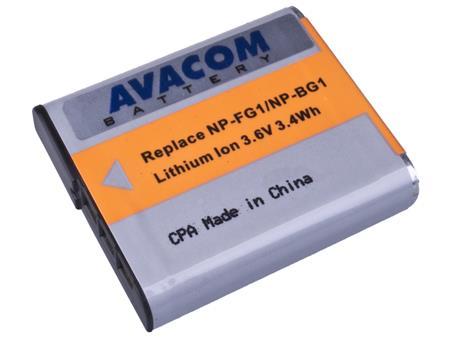 AVACOM baterie - Sony NP-BG1N, FG1 Li-Ion 3.6V 950mAh 3.4Wh; DISO-BG1-843N5