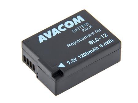 AVACOM baterie - Panasonic DMW-BLC12 Li-Ion 7.4V 1200mAh 8.6Wh; DIPA-LC12-J1200
