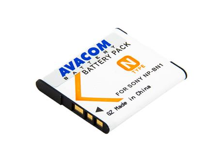 AVACOM baterie - Sony NP-BN1 Li-Ion 3.6V 650mAh 2.4Wh; DISO-BN1-334N2