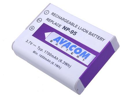 AVACOM baterie - Fujifilm NP-95, Ricoh DB-90 Li-Ion 3.7V 1700mAh 6.3Wh; DIFU-NP95-351